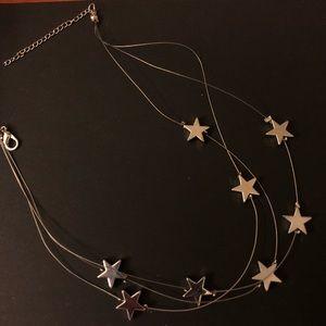 Stardust Layered Chain Choker